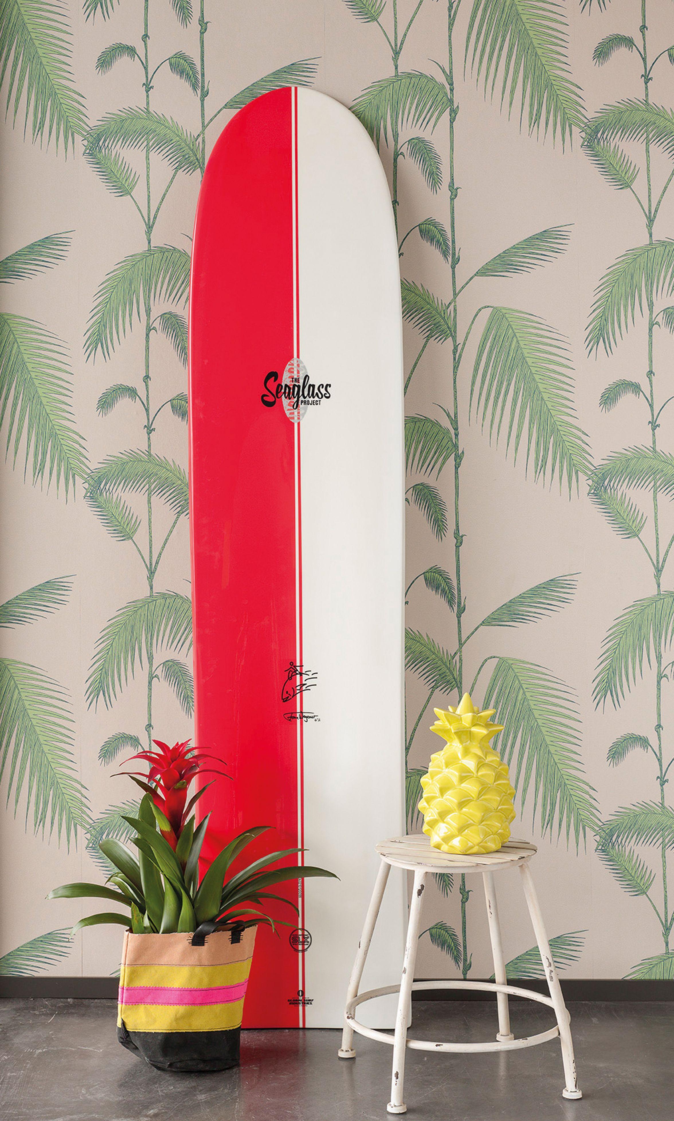 Deko Pineapple Surfboard Club Tropicana Indoor Ideas Furnishing