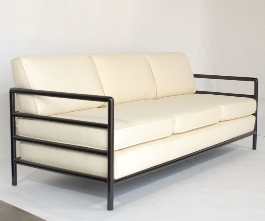 Clean Lined Modernist Sofa Designed By T H Robsjohn Gibbings Modernist Sofa Sofa Design Furniture