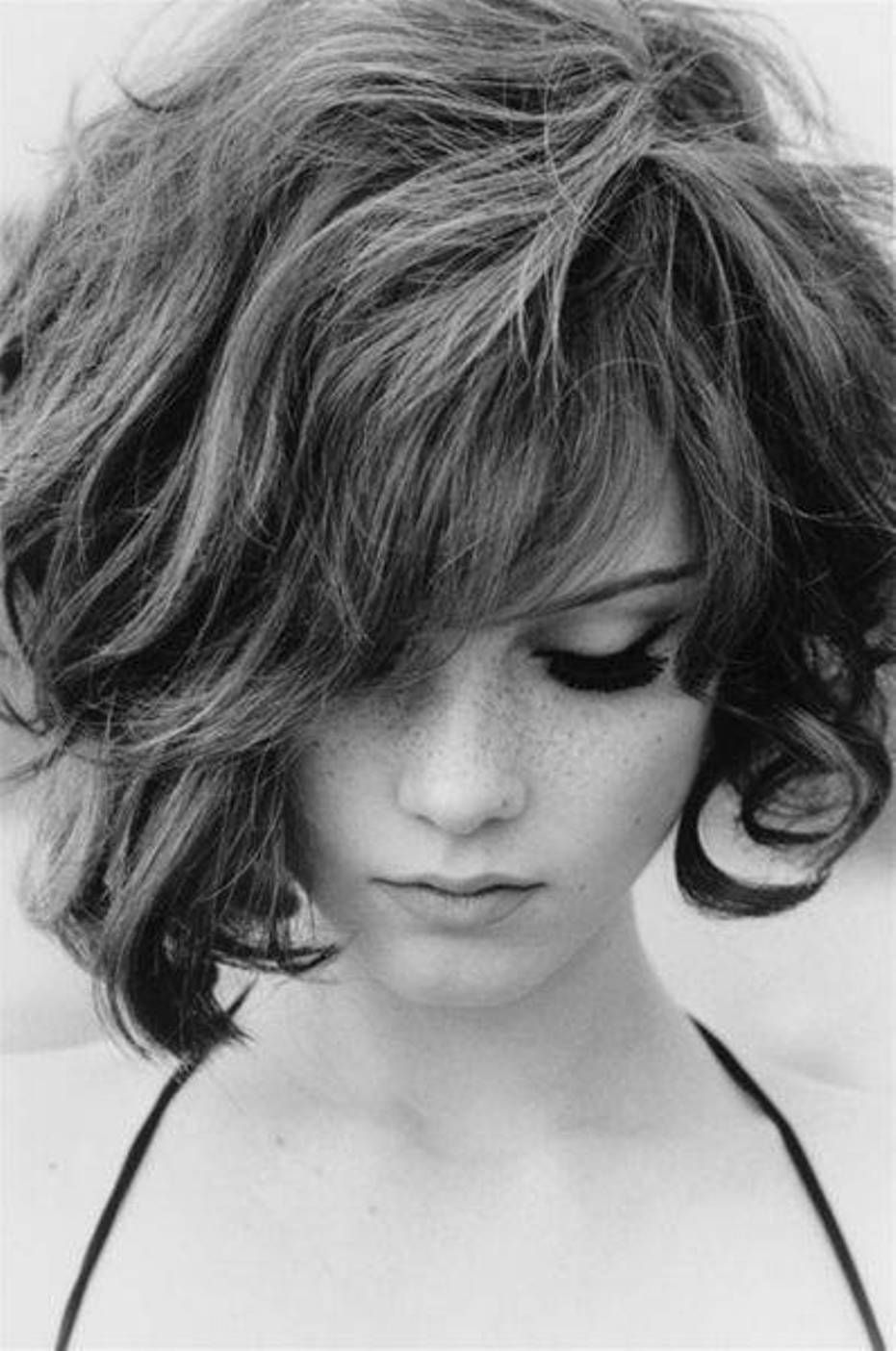 Best Modern Wavy Models Short Haircuts For Frizzy Hair  Beauty