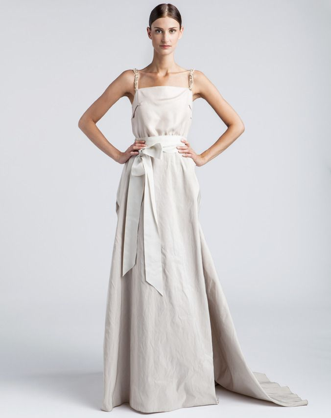 Lanvin Bridal Dresses Long Ivory Dress Ivory Dresses