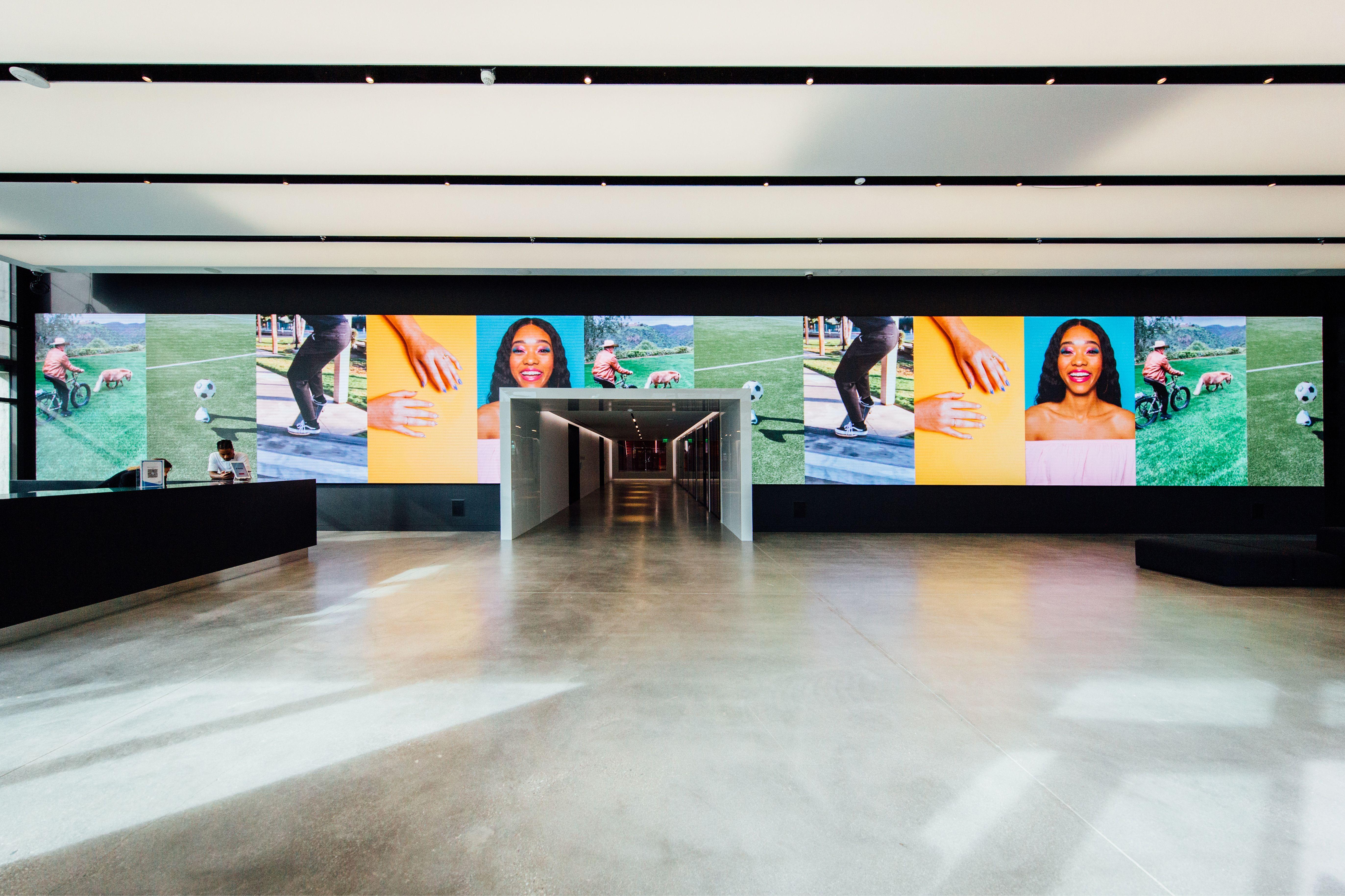 Growing Our Presence In Los Angeles Newsroom Tiktok In 2020 Los Angeles Angel Flat Screen