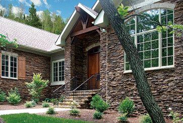Eastern Mountain Ledgestone Exterior - Coronado Ledgestone - traditional - exterior - charlotte - Coronado Stone Products