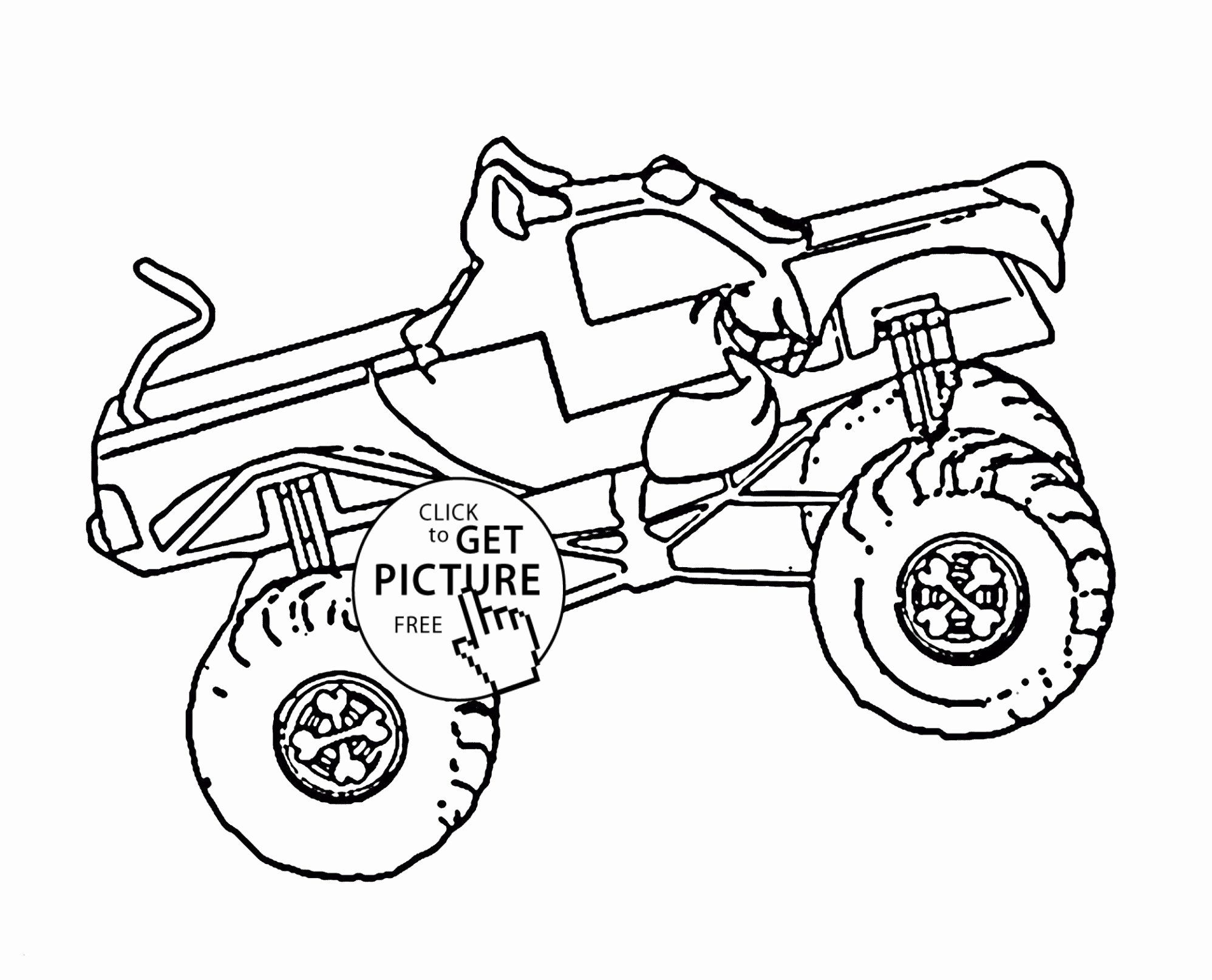 Transportation Coloring Pages For Toddlers Inspirational Monster Truck Coloring Pages