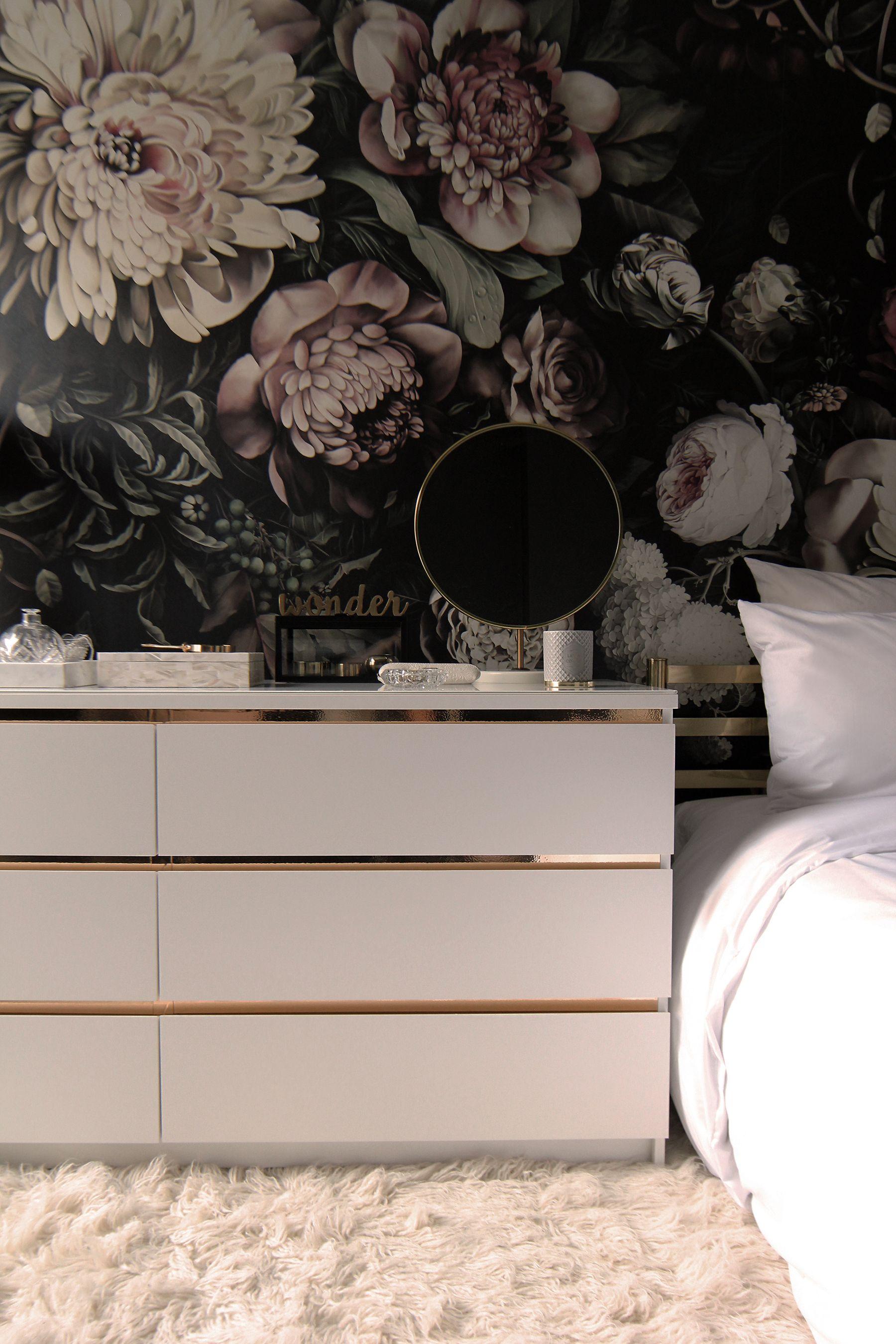 preciously me blog one room challenge bedroom makeover. Black Bedroom Furniture Sets. Home Design Ideas
