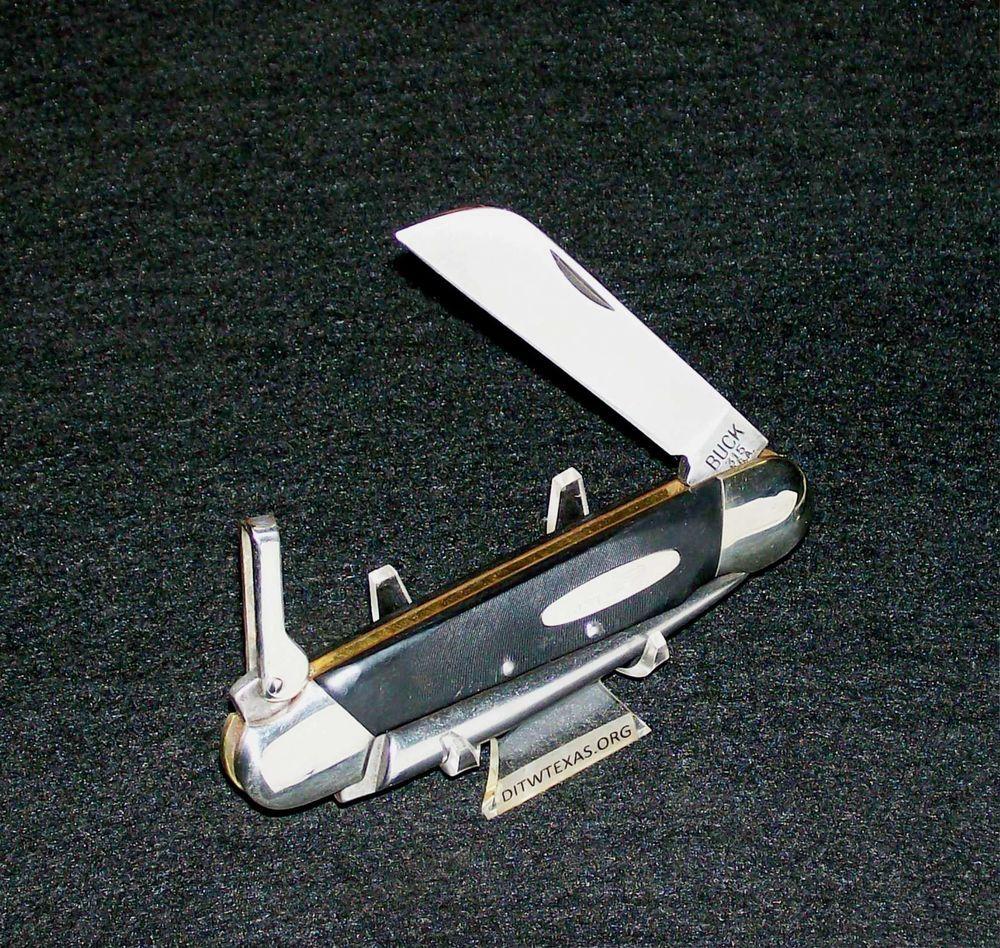 Buck 315 Yachtsman Rigging Knife Quot Camillus Sfo Quot 4 1 2