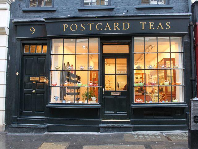One Of The Best Tea Merchants In World Postcard Teas Dering