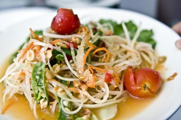 Som Tum Thai green papaya salad