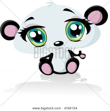 Anime bebé Panda Bear | Ideas para pintar | Pinterest | Baby panda ...