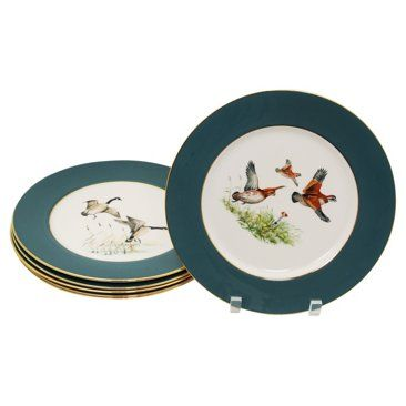 Check out this item at One Kings Lane! Bird Dinner Plates Set of 6  sc 1 st  Pinterest & Check out this item at One Kings Lane! Bird Dinner Plates Set of 6 ...