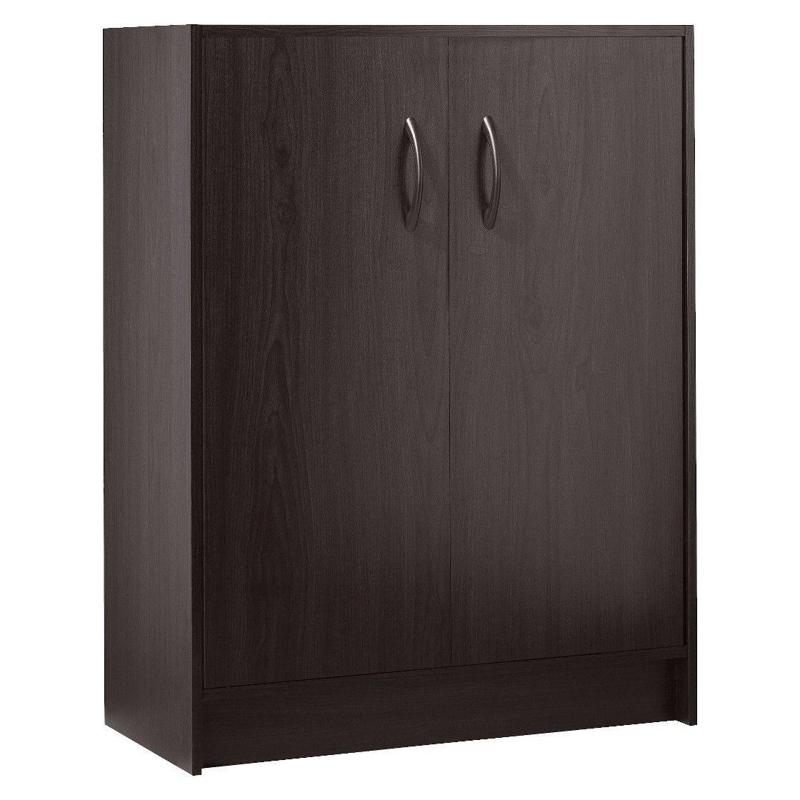 Utility Storage Cabinetsu0026nbsp2 Door Organizeru0026nbspEspresso   Room Essentials ™