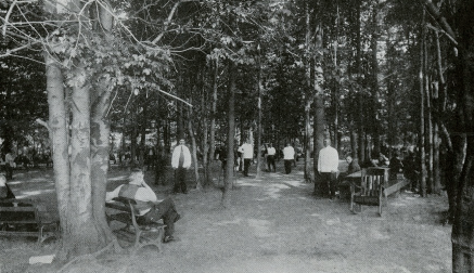 Byberry Hospital, Pennsylvania c. 1920 Recreation park