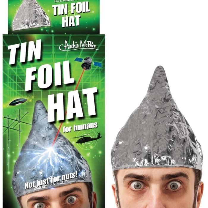 Tin Foil Hat For Humans Tin Foil Hat Tin Foil Foil