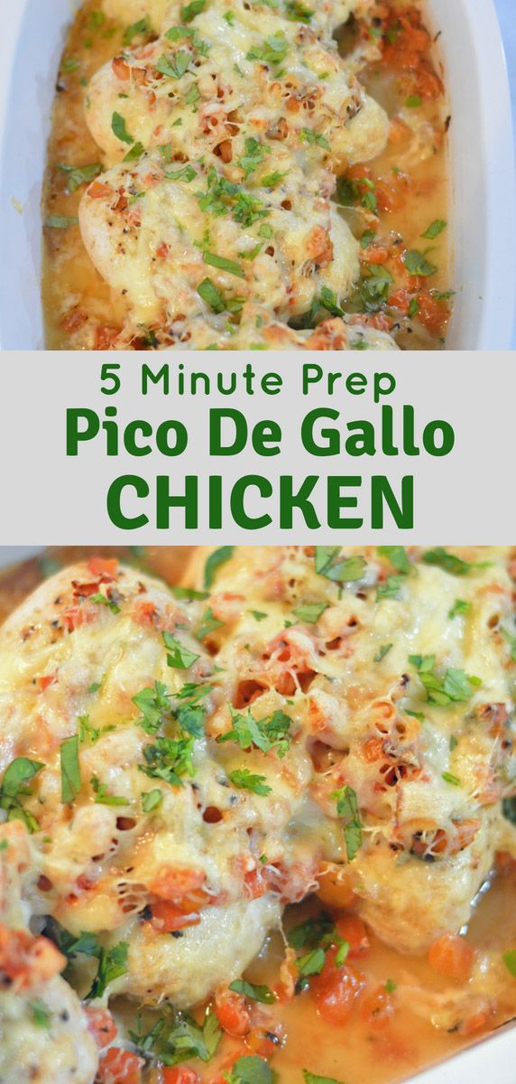 Pico De Gallo Chicken #dinnerrecipesforfamilymaindishes