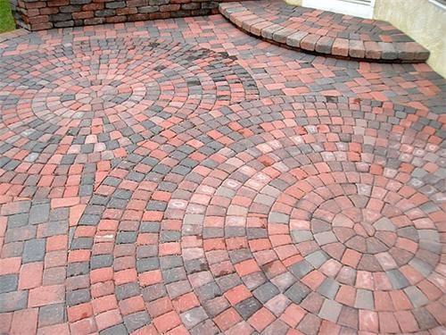 Brick Patio Ideas Brick Patterns Patio Patio Landscaping Brick Patios