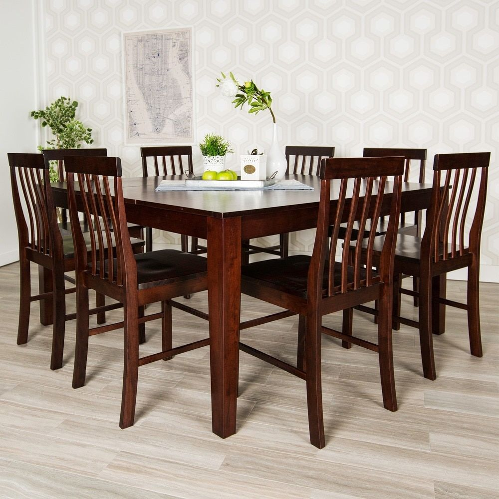 Overstock Com Online Shopping Bedding Furniture Electronics Jewelry Clothing More Solid Wood Dining Chairs Dining Table Farmhouse Dining Table