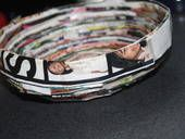 Magazine Bowl ∙ Creation by Angeline Annette on Cut Out + Keep