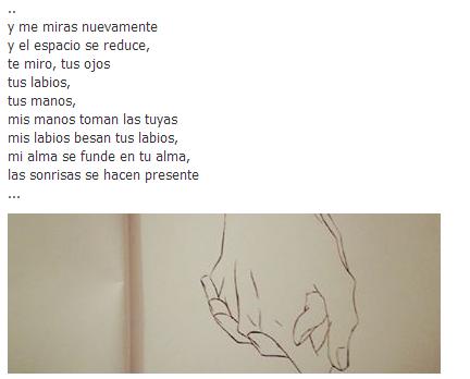 Fragmento de un poema que escribí + un dibujo que hice :)