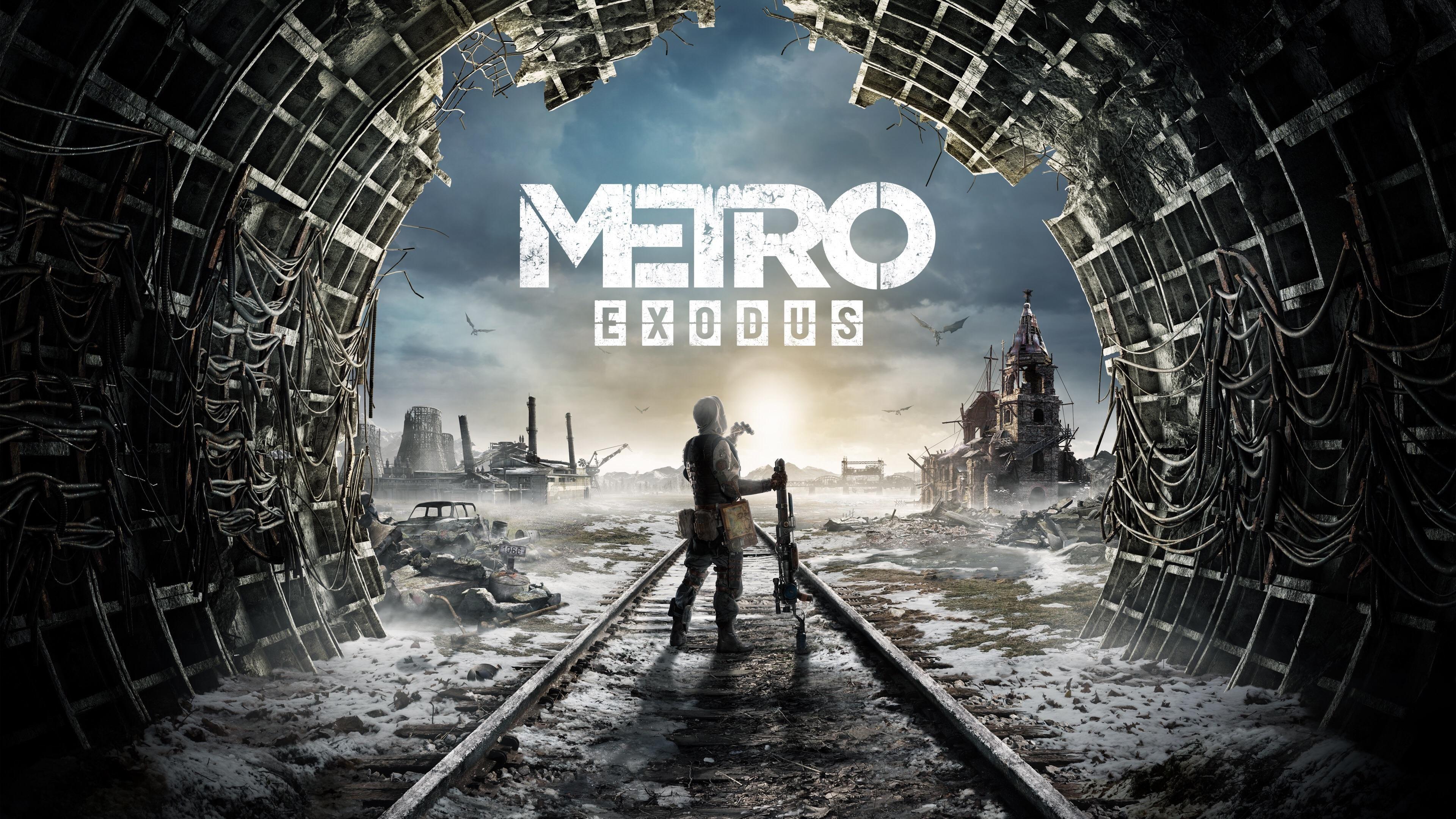 Metro Exodus 4k Wallpaper Exodus Metro Last Light E3 2018