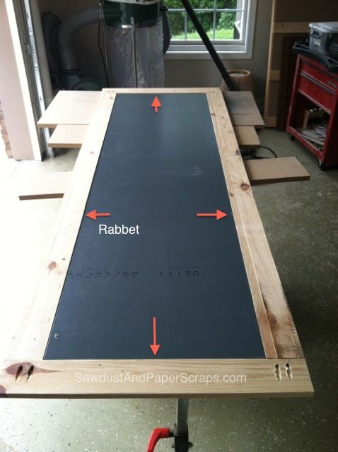 Building a Framed Mirror making a rabbet info   good to know ...