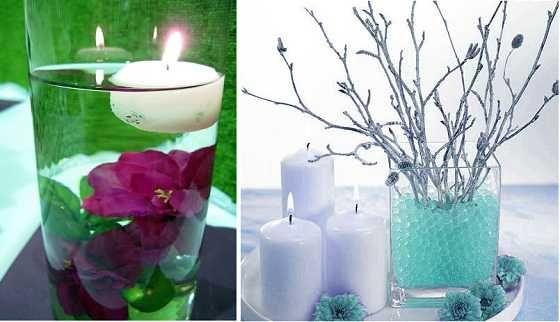 Decoraciones para centro de mesas decoraci n de bautizo - Decoracion de mesa de bautizo ...