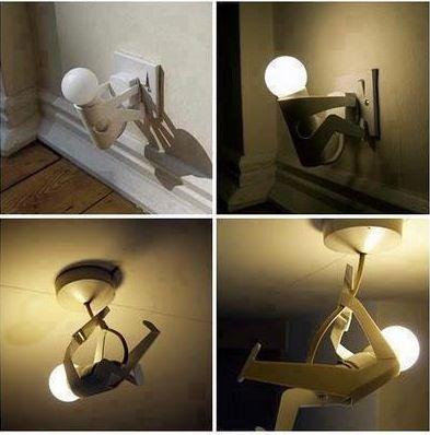 Interesting lamp design