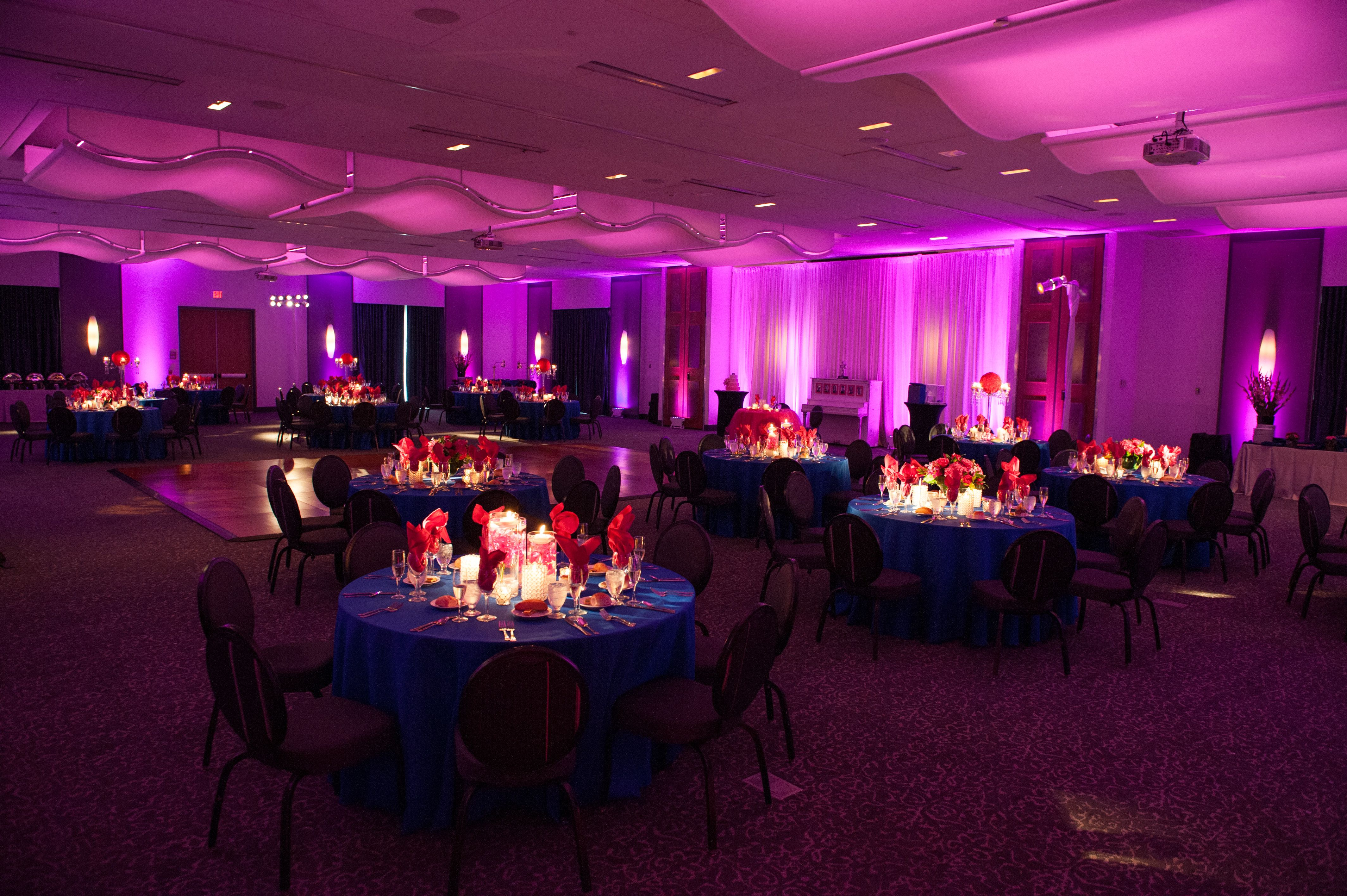 Aloft Hotel Wedding With Purple Uplighithing By Www Kylemichelleweddings Photography Mount Laurelthe