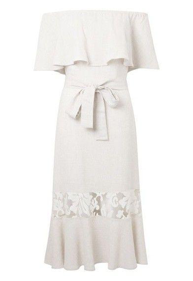 Vestido anne le lis blanc