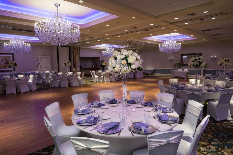 Crystal Ballroom at Radisson Freehold in Freehold, New Jersey