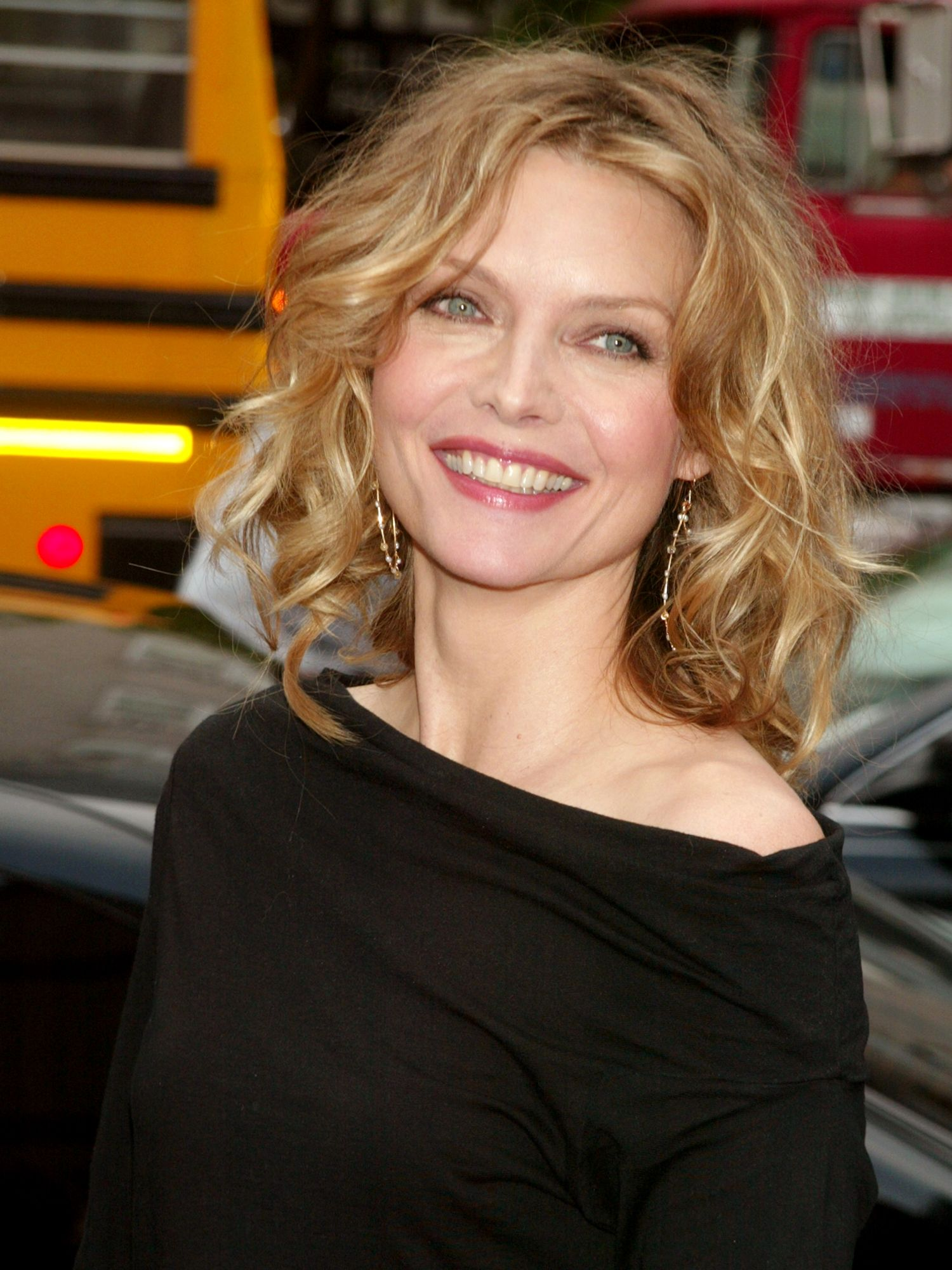michelle pfeiffer wore this huge hair trend way before it