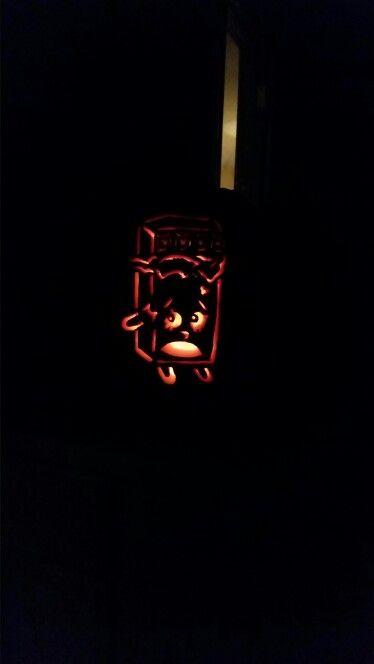 Shopkins Cheeky Chocolate Pumpkin Carving Pumpkin