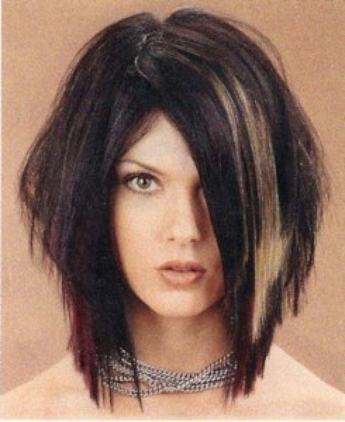 Shoulder Length Edgy Haircuts Edgy Medium Layered Haircutsedgy