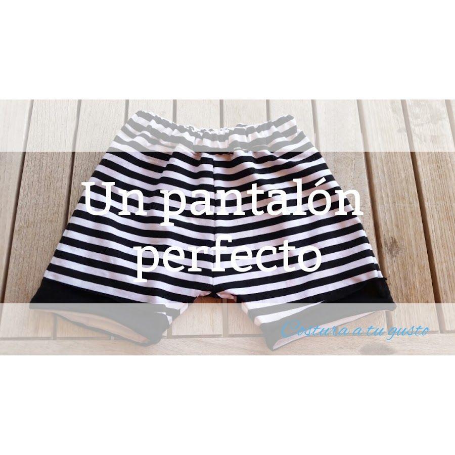 Pantalón corto, con patrón gratis | Manualidades