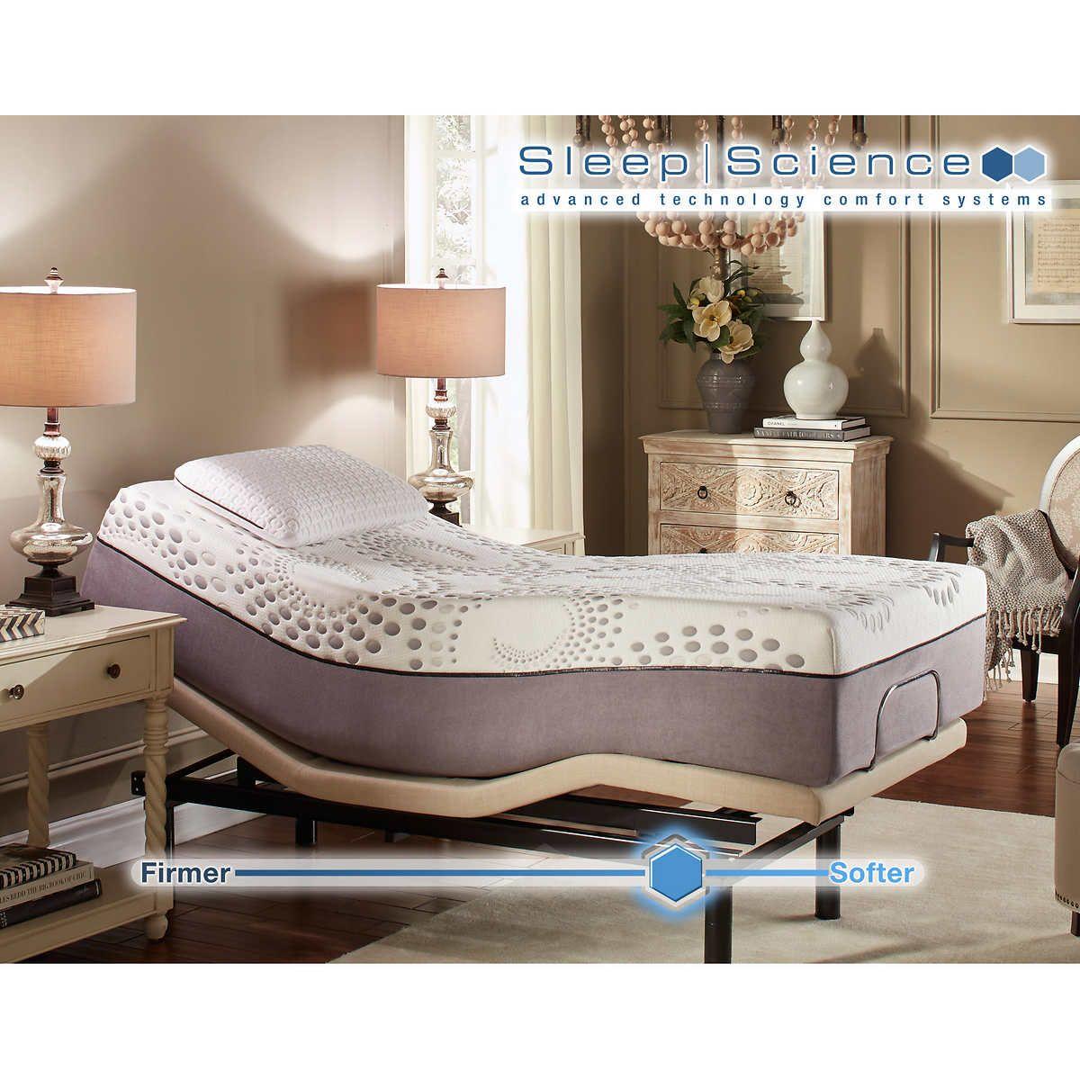 Sleep Science Mattress >> Sleep Science Ara 13 Twin Xl Memory Foam Mattress With