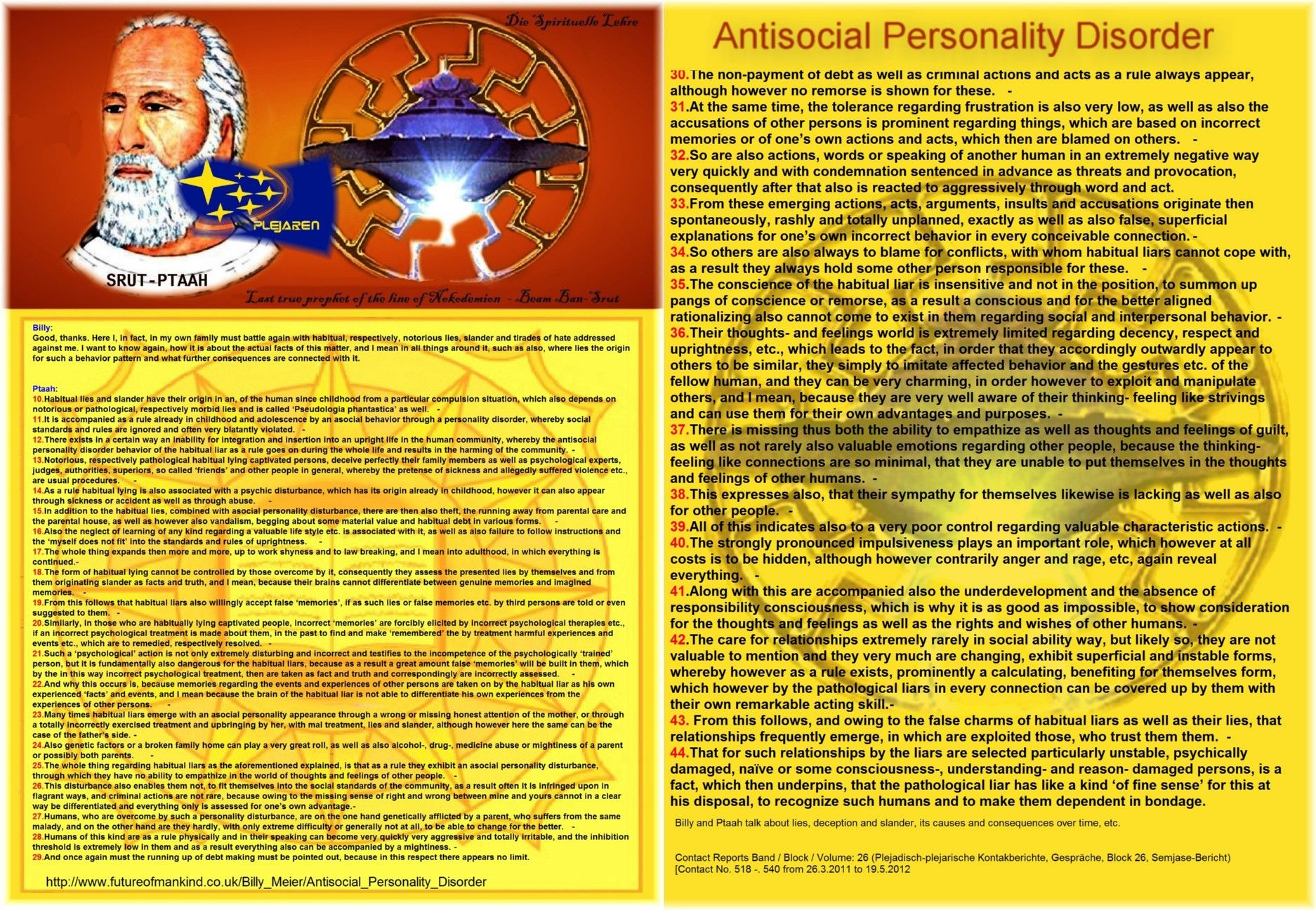 Antisocial Personality Disorder Billy Good Thanks Here