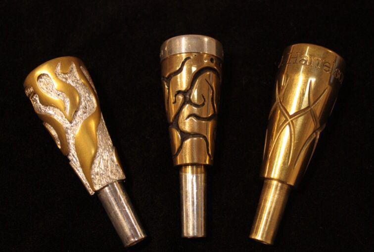 Harrelson custom mouthpieces | Music Stuff | Trumpet music
