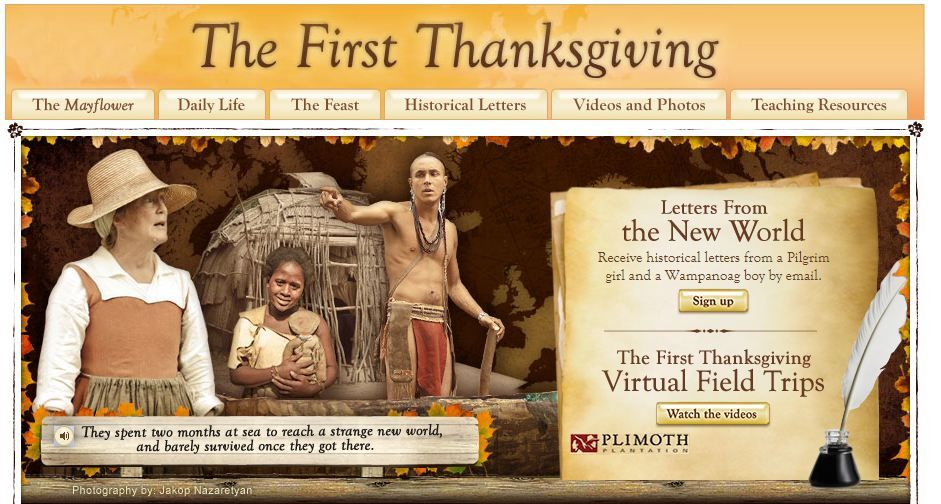Bring the story of the First Thanksgiving to life in your