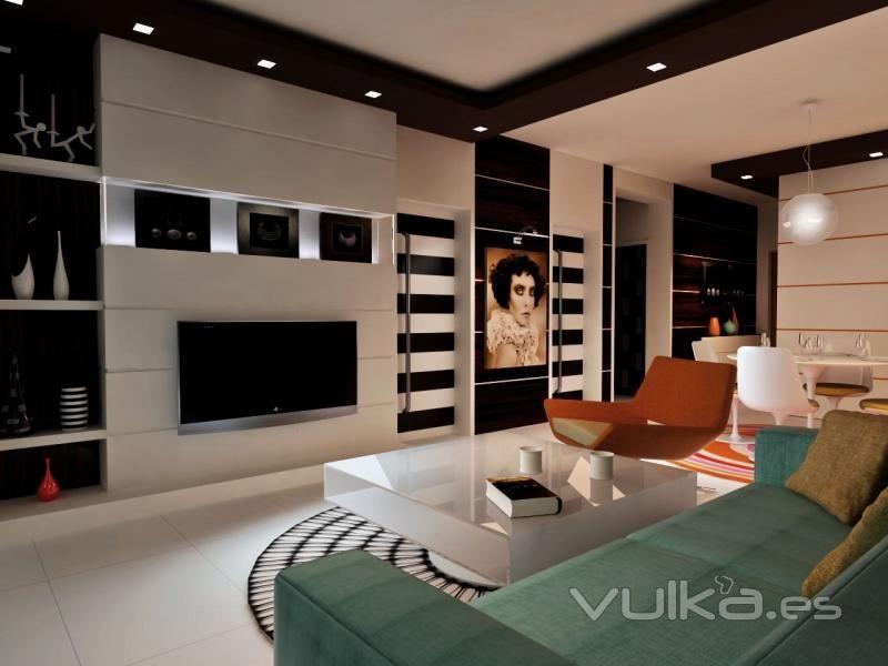 decoracin moderna - Diseo De Salones