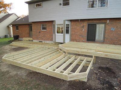 Blog Archives - Thomas Decks, LLC Terrasse bois Pinterest Decking - construction terrasse en bois sur parpaing