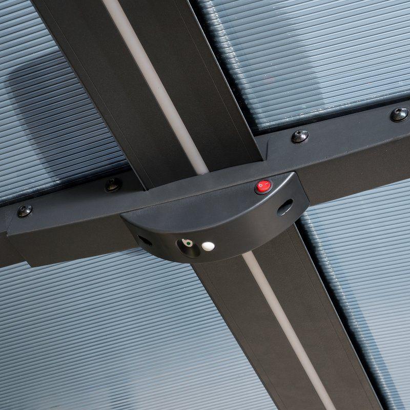 Carport 16 Ft X 12 Ft Canopy Canopy Steel Carports Carport