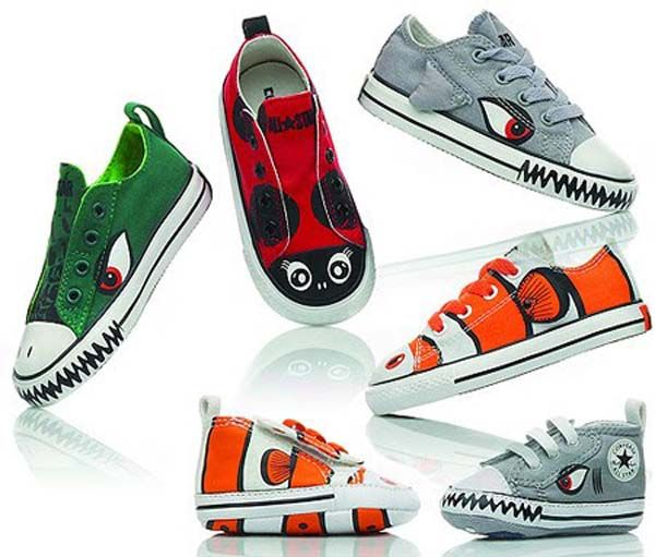 Converse kid shoes with animals | Kids shoes, Kids shoe ...