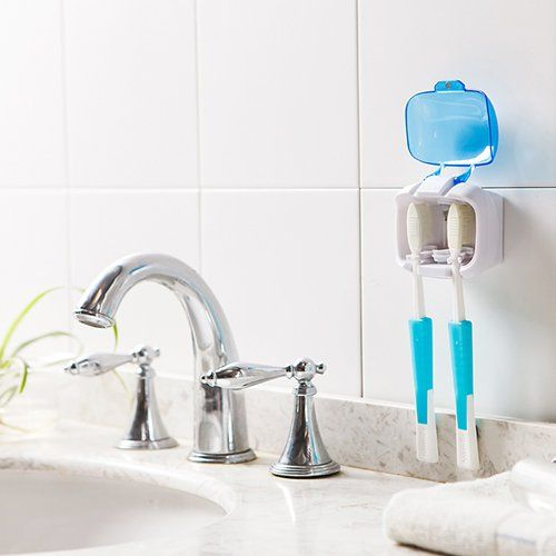 icare household couple uv toothbrush sterilizer wall on disinfectant spray wall holders id=41730