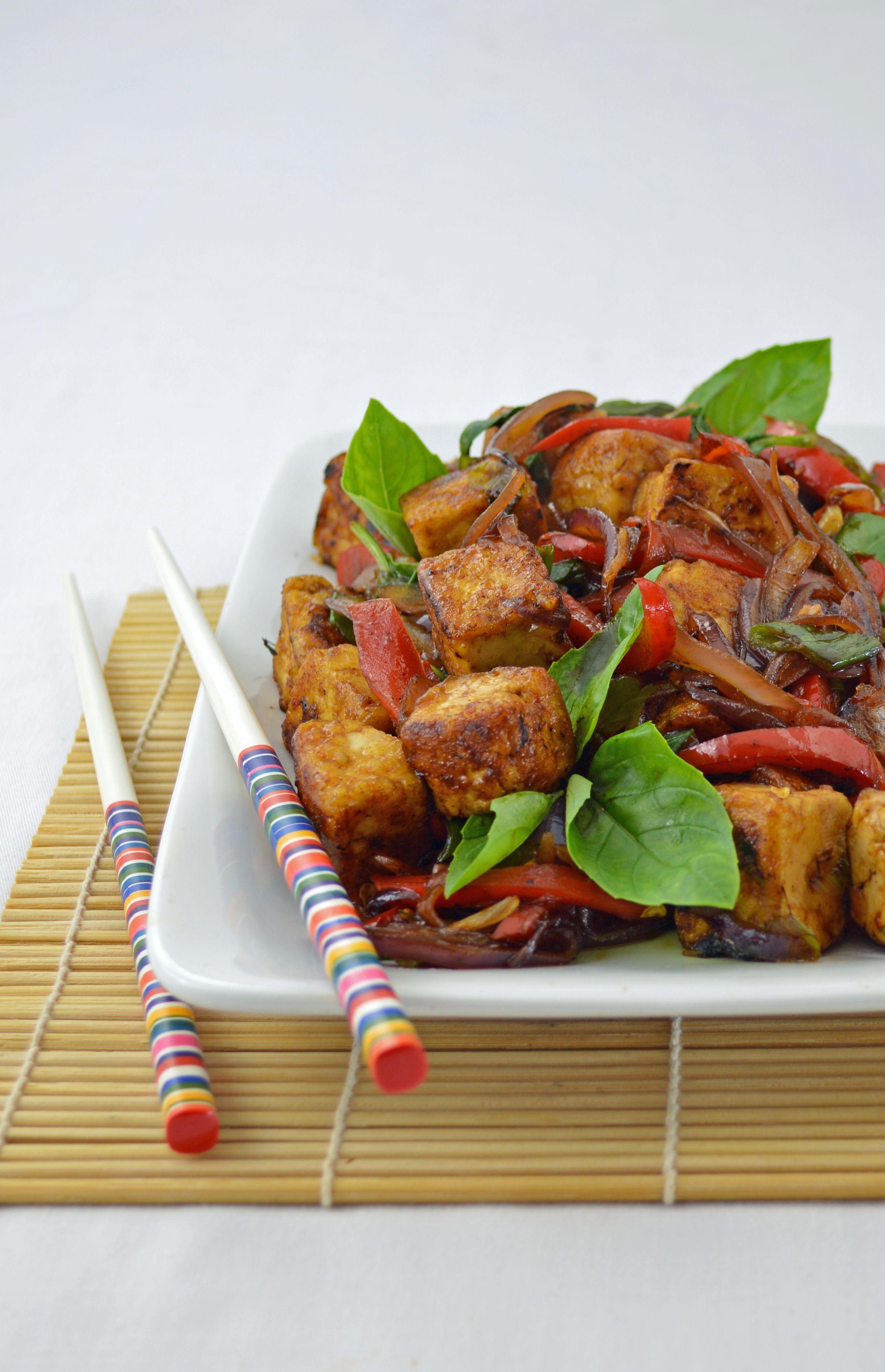 Kapow Tofu From 100 Best Vegan Recipes By Robin Robertson