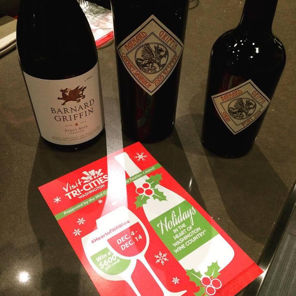 Visit Tricitieswa Tasting Rooms Thru 12 14 15 For Your Heartofwawine Passport Wawine Tricitieswa With Images Washington Wines Tasting Room Wine