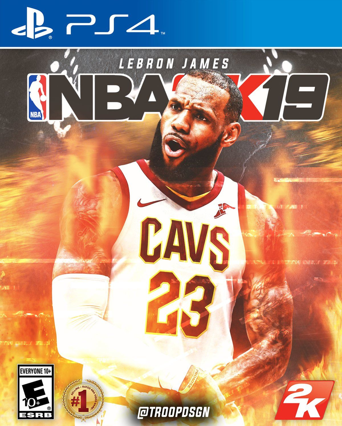 NBA 2K19 is an basketball simulation video game