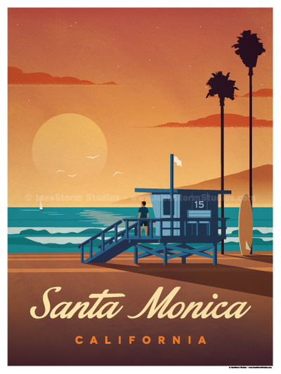 Travel Posters – American Cities