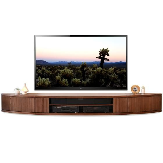 Floating Tv Stand Mid Century Modern Entertainment Center Arc Mocha Modern Entertainment Center Mid Century Modern Tv Stand Floating Tv Stand