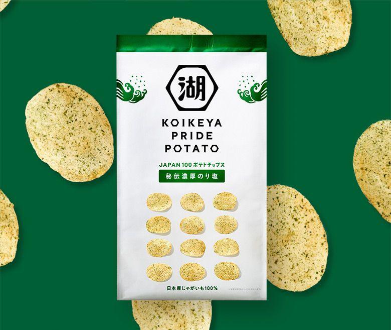 """日本休閑食品品牌""""湖池屋""""更換新LOGO和新包裝_07"""