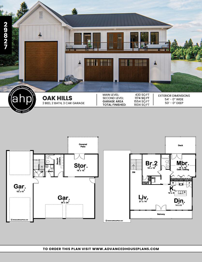 Modern Farmhouse Apartment Garage Oak Hills Carriage House Plans Pole Barn House Plans Barn House Plans