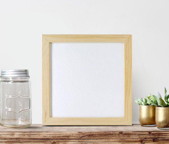 12x12x125 frame glass backing unfinished wood frames square frame