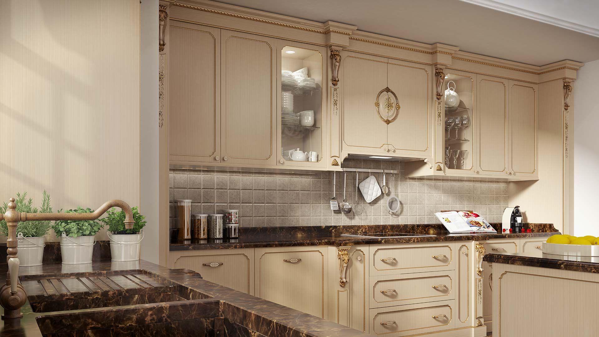 mobili per cucina classica di lusso   mobili classici e ...